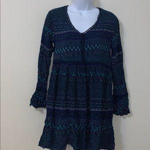 Wild blue Sadie Robertson dress